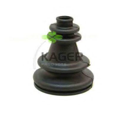 Комплект пылника, приводной вал KAGER 130178