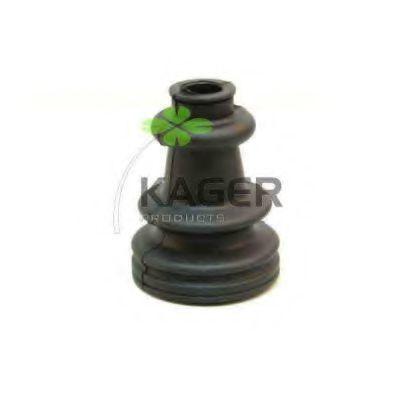 Комплект пылника, приводной вал KAGER 130191