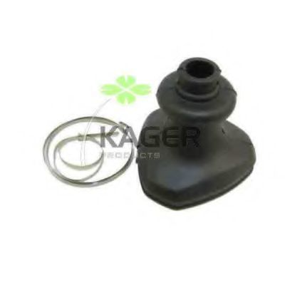 Комплект пылника, приводной вал KAGER 130280