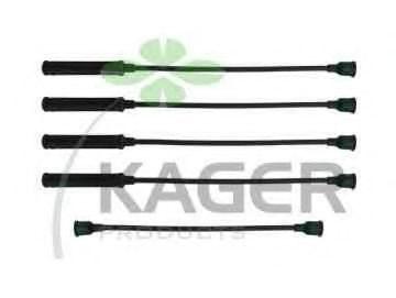 Провода высоковольтные комплект KAGER 640386