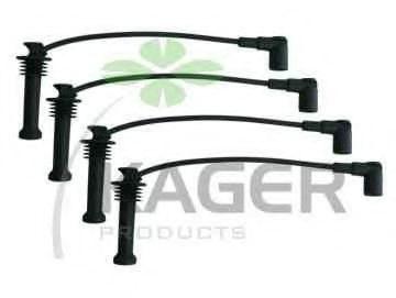 Провода высоковольтные комплект KAGER 640546