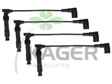 Провода высоковольтные комплект KAGER 640581