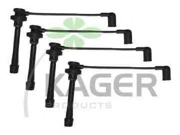 Провода высоковольтные комплект KAGER 640599