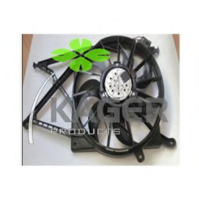 Вентилятор охлаждения двигателя KAGER 322144