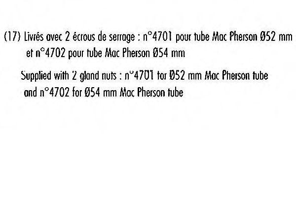 Амортизатор RECORD FRANCE 103659