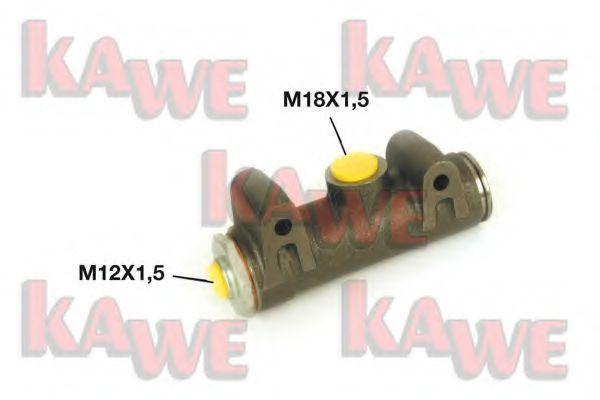Главный тормозной цилиндр KAWE B6610
