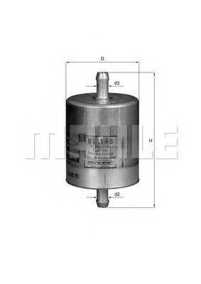 Фильтр топливный MAHLE KL145