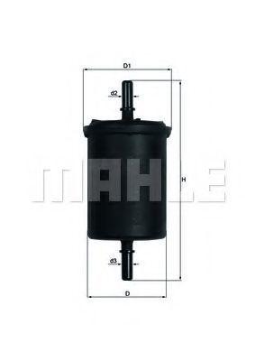 Фильтр топливный MAHLE KL 248