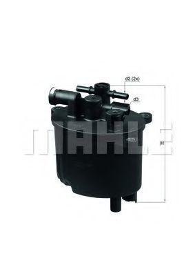 Фильтр топливный MAHLE KL581