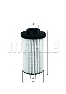 Фильтр топливный MAHLE KX80D