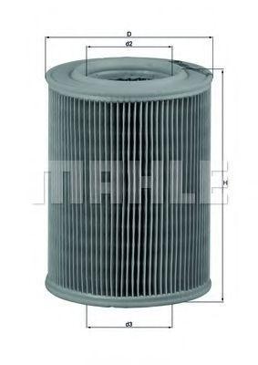 Фильтр воздушный MAHLE LX 455