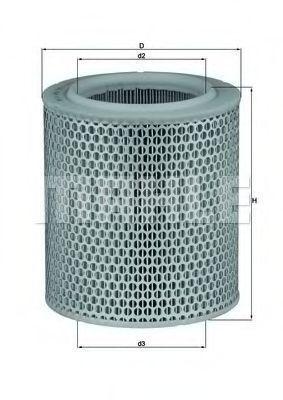 Фильтр воздушный MAHLE LX4781