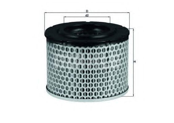 Воздушный фильтр Mahle Kolben LX255