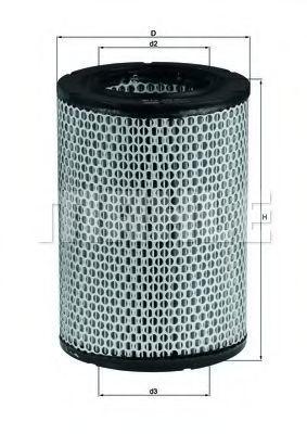 Воздушный фильтр Mahle Kolben LX228