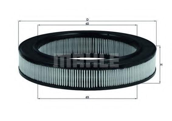 Фильтр воздушный MAHLE LX69