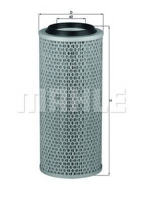 Фильтр воздушный MAHLE LX 200