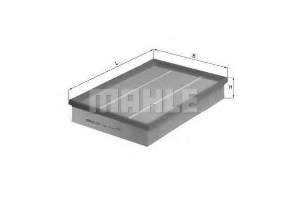 Фильтр воздушный MAHLE LX 460/1