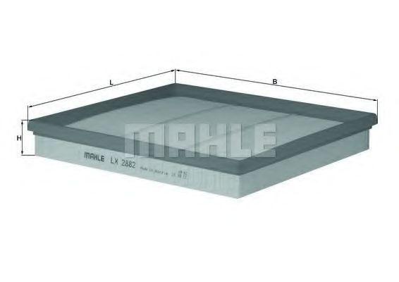 Фильтр воздушный MAHLE LX2882