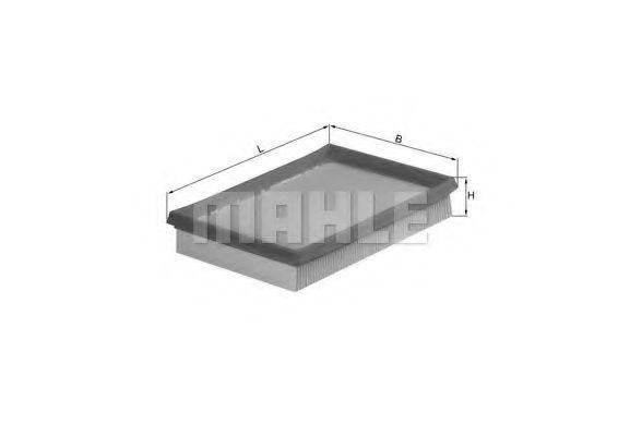 Фильтр воздушный MAHLE LX675