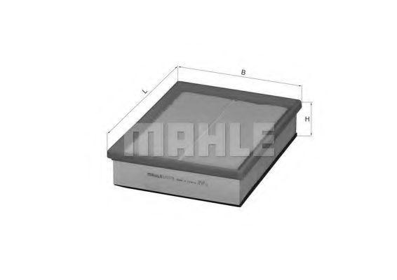 Фильтр воздушный MAHLE LX 1078