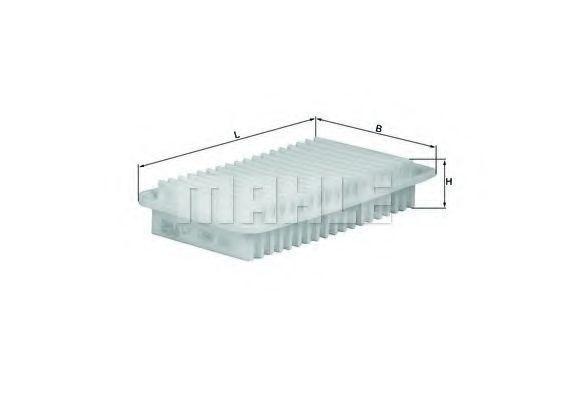 Фильтр воздушный MAHLE LX1286