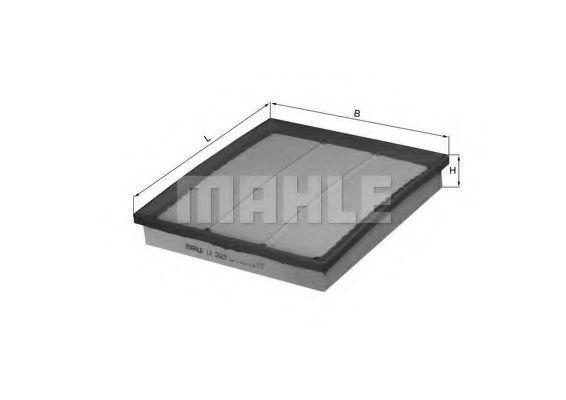 Фильтр воздушный MAHLE LX2683