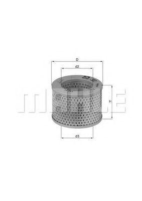 Воздушный фильтр MAHLE LX192