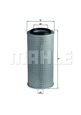 Фильтр воздушный MAHLE LX 236
