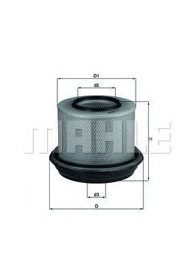 Фильтр воздушный MAHLE LX263