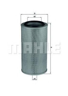 Фильтр воздушный MAHLE LX265