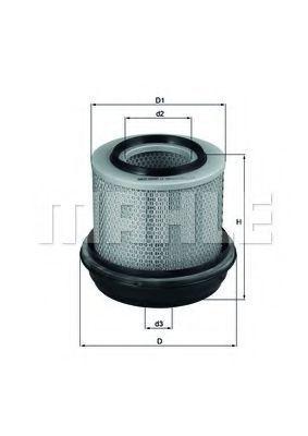 Фильтр воздушный MAHLE LX269