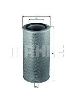 Фильтр воздушный MAHLE LX271