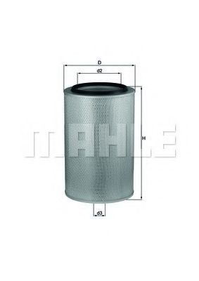 Фильтр воздушный MAHLE LX 273