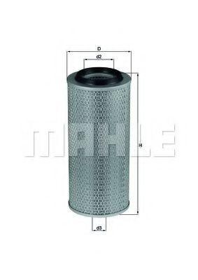 Фильтр воздушный MAHLE LX 275