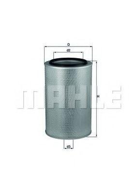 Фильтр воздушный MAHLE LX 436
