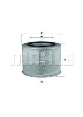 Фильтр воздушный MAHLE LX506