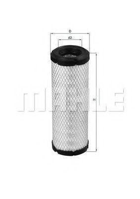Фильтр воздушный MAHLE LX1240