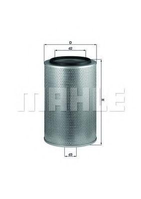 Воздушный фильтр MAHLE LX1606