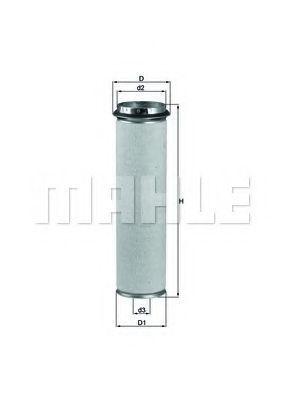 Фильтр воздушный MAHLE LXS 37/1