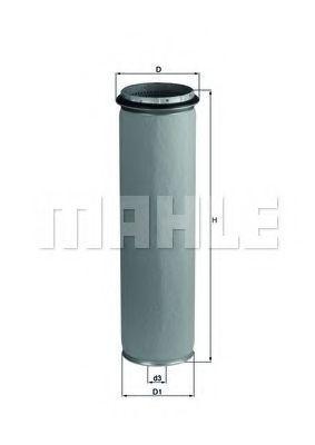 Фильтр воздушный MAHLE LXS 43/1