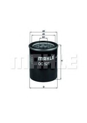 Купить Фильтр масляный MAHLE OC521