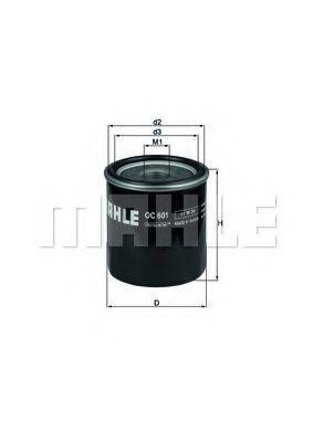 Купить Фильтр масляный MAHLE OC601