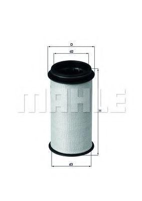Фильтр картерных газов MAHLE SOX 1