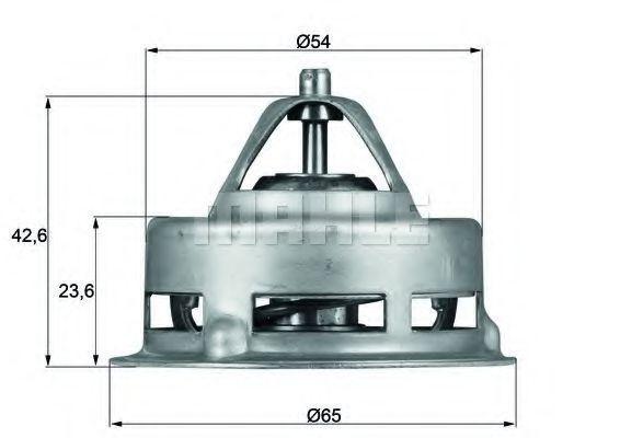 Термостат, охлаждающая жидкость Mahle Kolben TX271