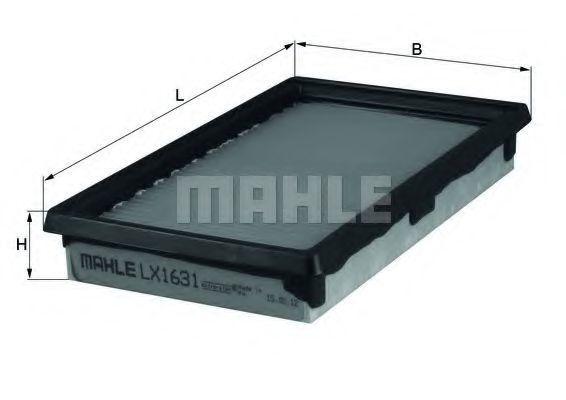 Фильтр воздушный MAHLE LX1631
