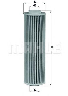Купить Фильтр масляный MAHLE OX1835D1