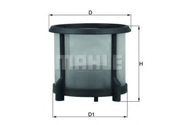Фильтр топливный MAHLE KX72D1