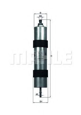 Фильтр топливный MAHLE KL 104