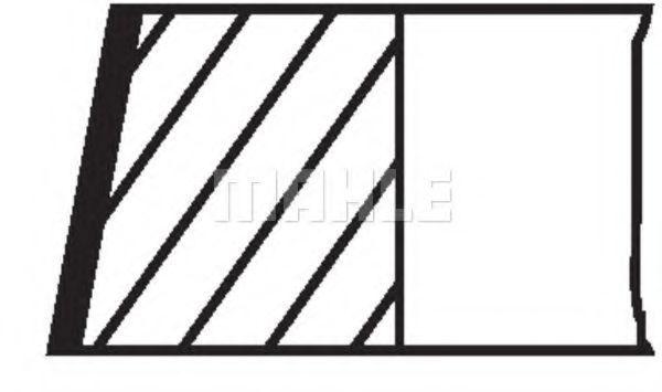 Комплект поршневых колец Mahle Kolben 081RS001050N0