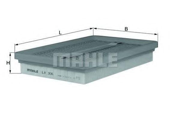 Фильтр воздушный MAHLE LX336